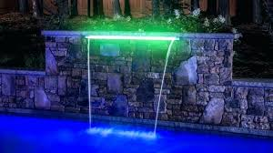 pool waterfall lighting. Waterfall Lighting Led Pool Swimming Rock Features Lights Faucets I