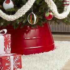 where to buy christmas tree collars simplemost intended for crate and barrel skirt decor 13 crate and barrel christmas tree skirt41