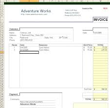 Excel 2003 Invoice Template Mvci