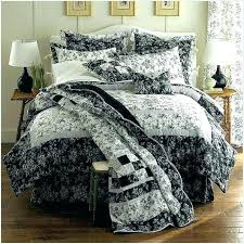black toile bedding. Brilliant Bedding Toile Bedding Sets Black Bedspreads And Coverlets Image Of White  Quilts   On Black Toile Bedding F