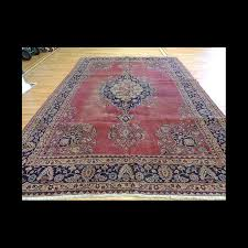 semi antique turkish sparta wool oriental area rug 8 x 10