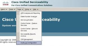 Audit Logs On Cisco Unified Communications Manager Cucm Netcraftsmen