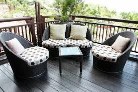 patio furniture for small balcony