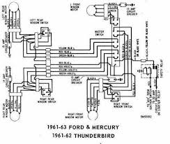 1964 ford thunderbird convertible wiring diagram images 1961 62 ford thunderbird wiring diagram automotive wiring diagrams