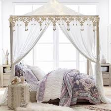 Best 25 Queen canopy bed frame ideas on Pinterest
