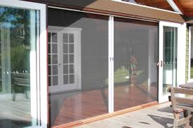 retractable screen doors. VistaView Retractable Screen Door Doors