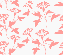 Floral Seamless Pattern Peach Textures Floral