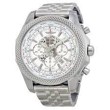 breitling bentley b05 unitime chronograph white dial stainless breitling bentley b05 unitime chronograph white dial stainless steel men s watch ab0521u0 a755ss
