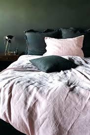 blush linen duvet cover blush linen sheets soft linen duvet cover rose pink levtex home washed