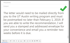 How To Ask Your Professor For A Letter Of Recommendation Via Email