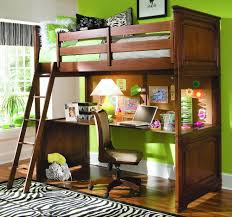 bunk bed cot underneath bed office