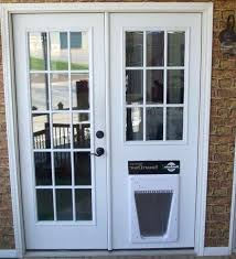 french doors with doggie door an error occurred french doors with dog door built in