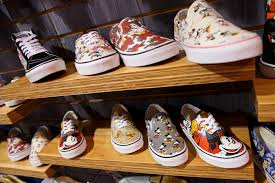 vans north face collab 2017. vans inc. shoes featuring walt disney co.\u0027s mickey mouse character are displayed north face collab 2017
