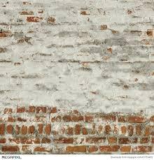 red white vintage brick wall whitewash frame background texture