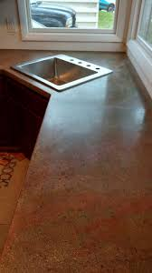 Concrete Countertop Over Laminate 146 Best Do It Yourself Concrete Countertops Images On Pinterest