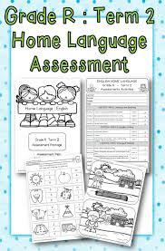 Assessment Gorgeous Grade R Home Language Assessments Term 44 School Diva