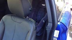 bmw 428i with child seat