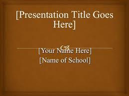 Apa Template Powerpoint