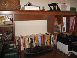 items home office. Home Office: This Desk Has An Awesome Amount Of Storage Space. What Was Needed Here A Thorough Dusting And Going Through Each Item To Evaluate Its Items Office