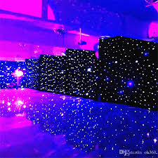 3mx6m led wedding party curtain led star cloth black stage backdrop led star cloth curtain light wedding decoration with 522 27 piece on ok360 s