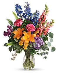 Amarillo funeral homes funeral boxwell brothers funeral directors ltd flowers amarillo tx 79107. Colors Of The Rainbow Bouquet In Amarillo Tx Scott S Flowers