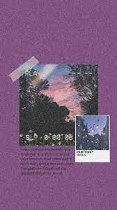 Grunge aesthetic wallpaper, purple ...
