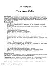 Job Resume Examples For Restaurant Jobs