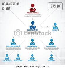 Org Chart Graphic Organizational Chart Infographic