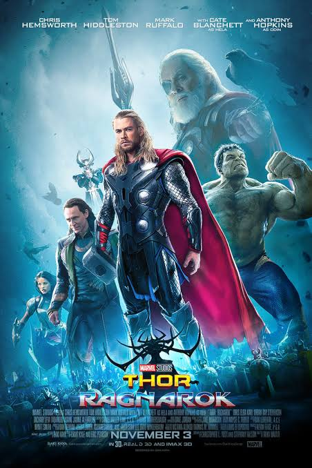 Thor Ragnarok 2017 Dual Audio ORG Hindi 720p BluRay 1.1GB