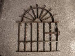 wrought iron fence victorian. 1 Of 7 #2 Antique Ornate Victorian Sunburst WROUGHT IRON FENCE GATE Garden  Salvage Wrought Iron Fence Victorian