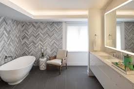 best type of tile for bathroom. Herringbone Tile Wall Uplifts Modern Master Bathroom Best Type Of For