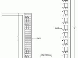 plan view bellevue custom wine cellar