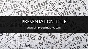 newspaper ppt template newspaper powerpoint template is free template that you can use to