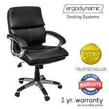 erynamic list high low back mbc faux leather mid office chair furniture executive black gravity lounge