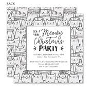White Christmas Invitations Holiday Party Invites Invitations For Christmas Party