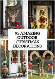 95 Amazing Outdoor Christmas Decorations | Christmas | Pinterest | Outdoor  christmas, Decoration and Holidays