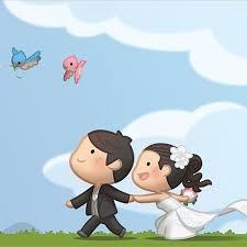 cute cartoon couple love images hd