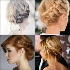 French Braid Updo Hairstyles Braided Updo Hairstyles French Braid Into Messy Bun Youtube