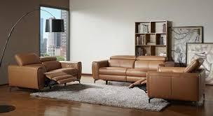 london motion sofa set in caramel