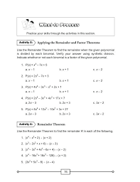 solve by factoring worksheet plus solving polynomials