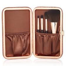 charlotte tilbury mini magic brush set glimmering dess clutch