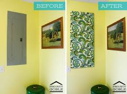 Decorative Electrical Box Cover Making My Stead Master Bedroom Inspiration 44