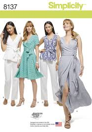 Simplicity Patterns Fascinating Simplicity Simplicity Pattern 48 Misses' And Plus Size Wrap