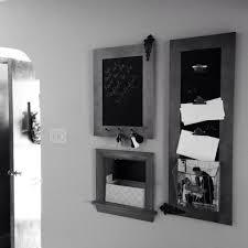 diy foyer wall organizer