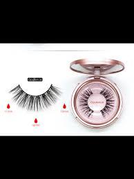 <b>1 Pair</b> of <b>Magnetic</b> Eyelashes and <b>Magnetic</b> Eyeliner Kit