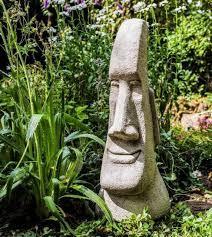 brilliant large easter island moai head