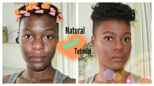 natural makeup look acne e hyperpigmented