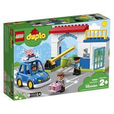 <b>LEGO DUPLO Town</b> Police Station <b>10902</b> Building Blocks (38 Piece ...