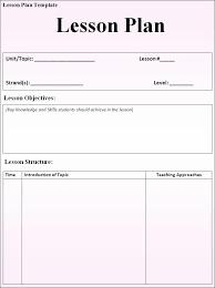 lesson plans sheet 4 best images of formal lesson plan template lesson plan sheet