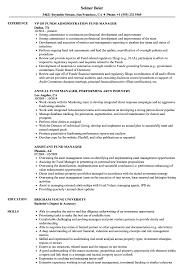 Fund Manager Resume Samples Velvet Jobs